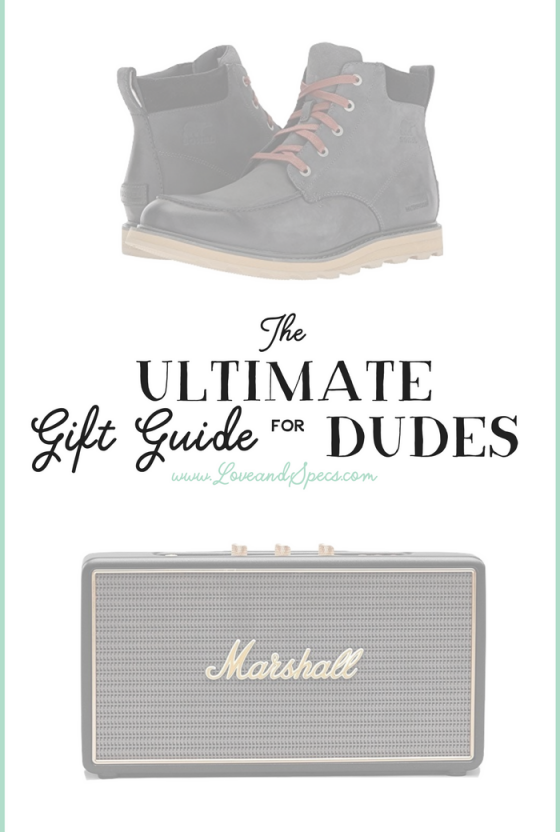 Gift Guide: No-Fail Gifts for Men