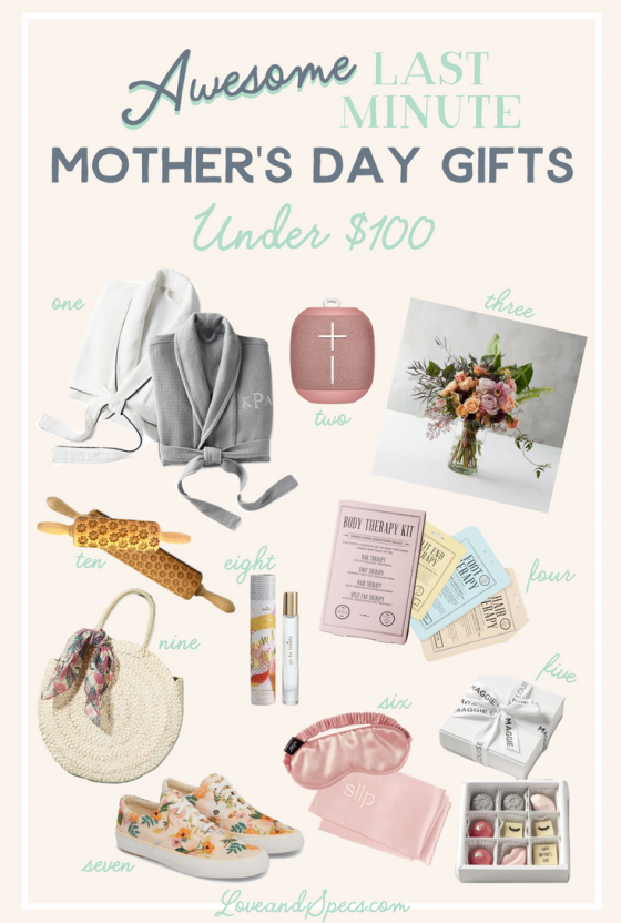 10 Last-Minute Mother's Day Gift Ideas Under $100