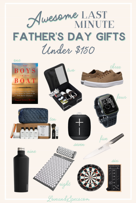 Awesome Last-Minute Father's Day Gift Ideas Under $150