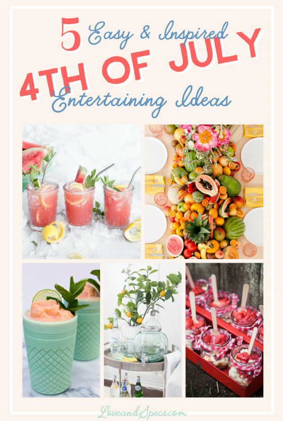 5 Inspired 4th of July Entertaining Ideas
