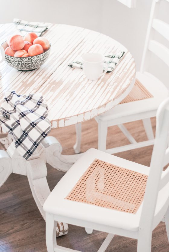 Easy DIY Wood Dining Chair Makeover
