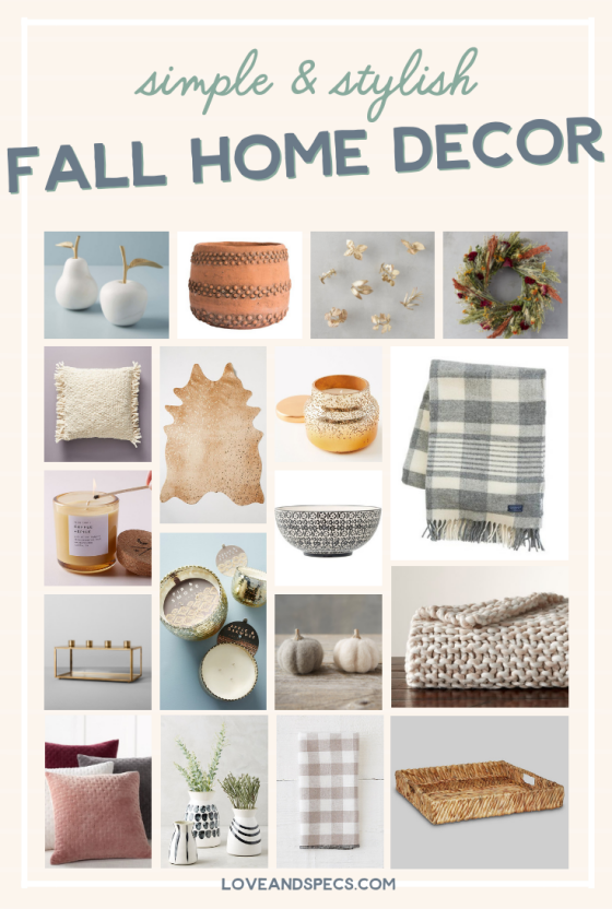 Simple & Stylish Fall Home Decor Ideas