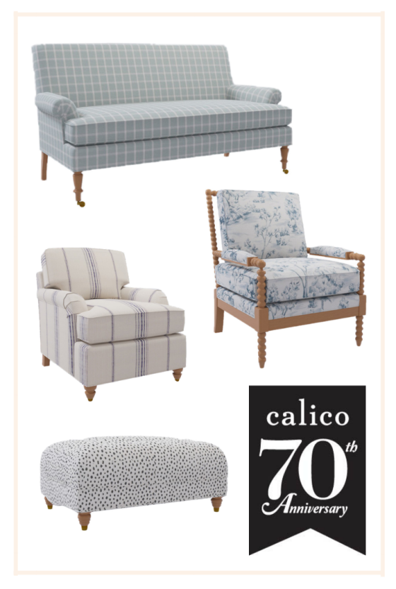 Our Furniture Collection Celebrating Calico's 70th Anniversary!