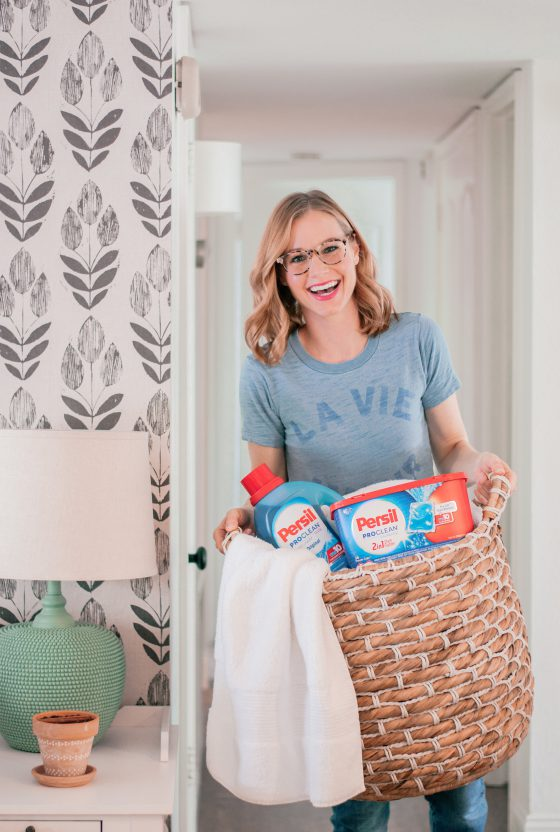 10 Guest Bedroom Ideas for the Holidays with Persil® ProClean® Laundry Detergent