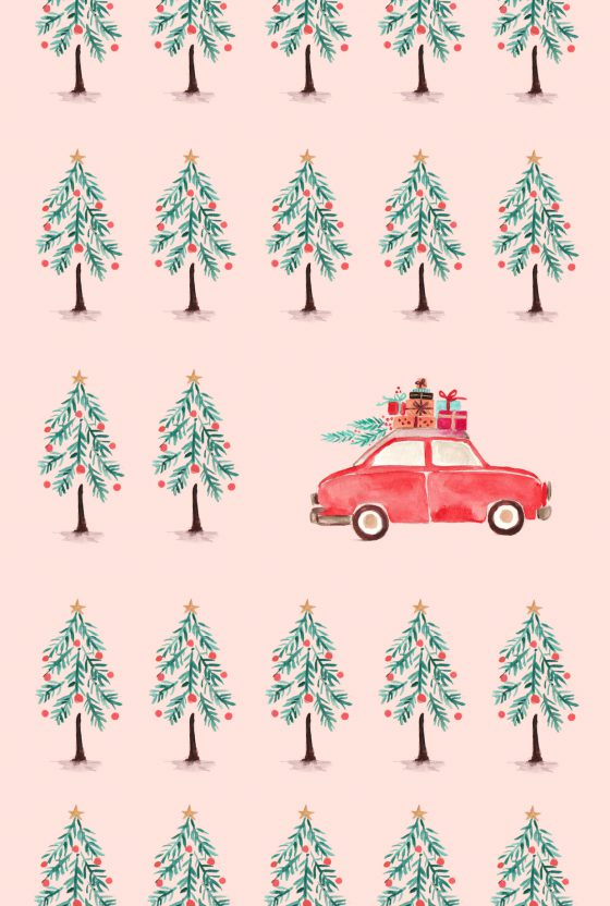 Fun (and free!) Holiday & Winter Phone Wallpapers