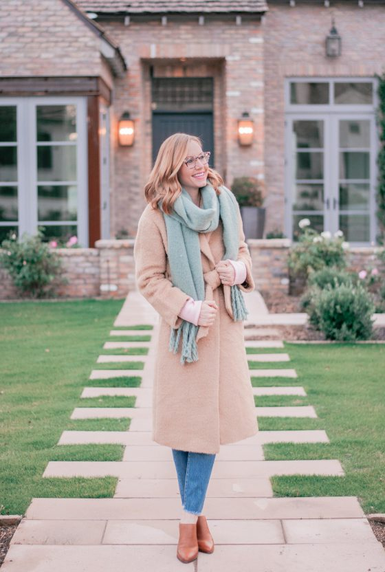 The Perfect Camel Coat for Winter