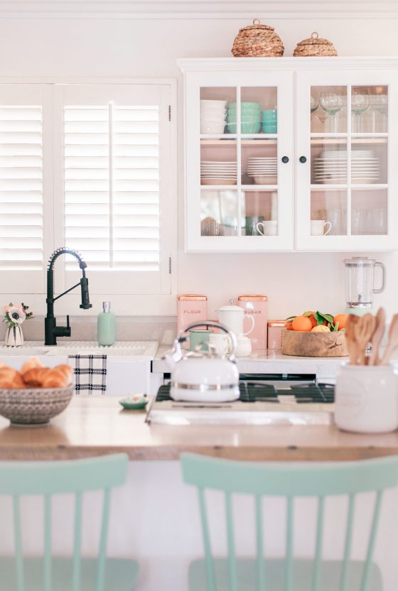 Our Cozy Farmhouse Kitchen Wood Countertops