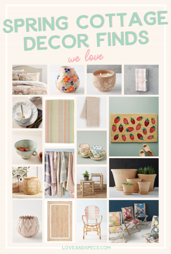 Spring Cottage Style Home Decor We Love