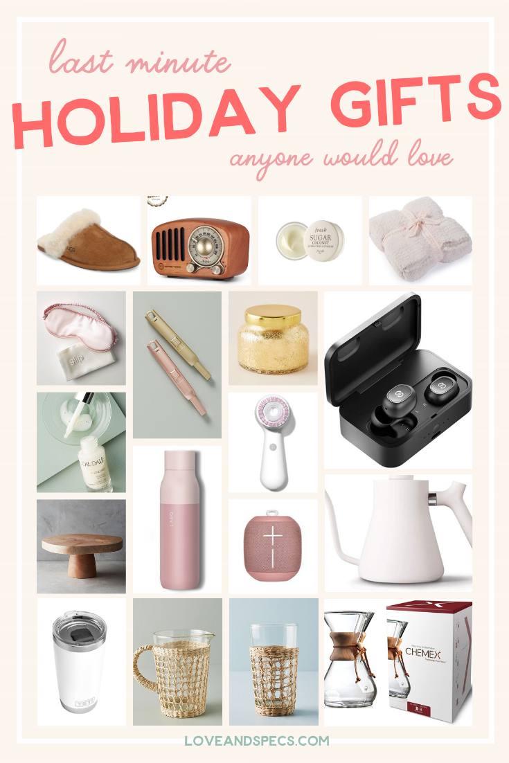 No-Fail Last Minute Christmas Gifts Anyone Would Love: Amazon, Anthropologie & More!