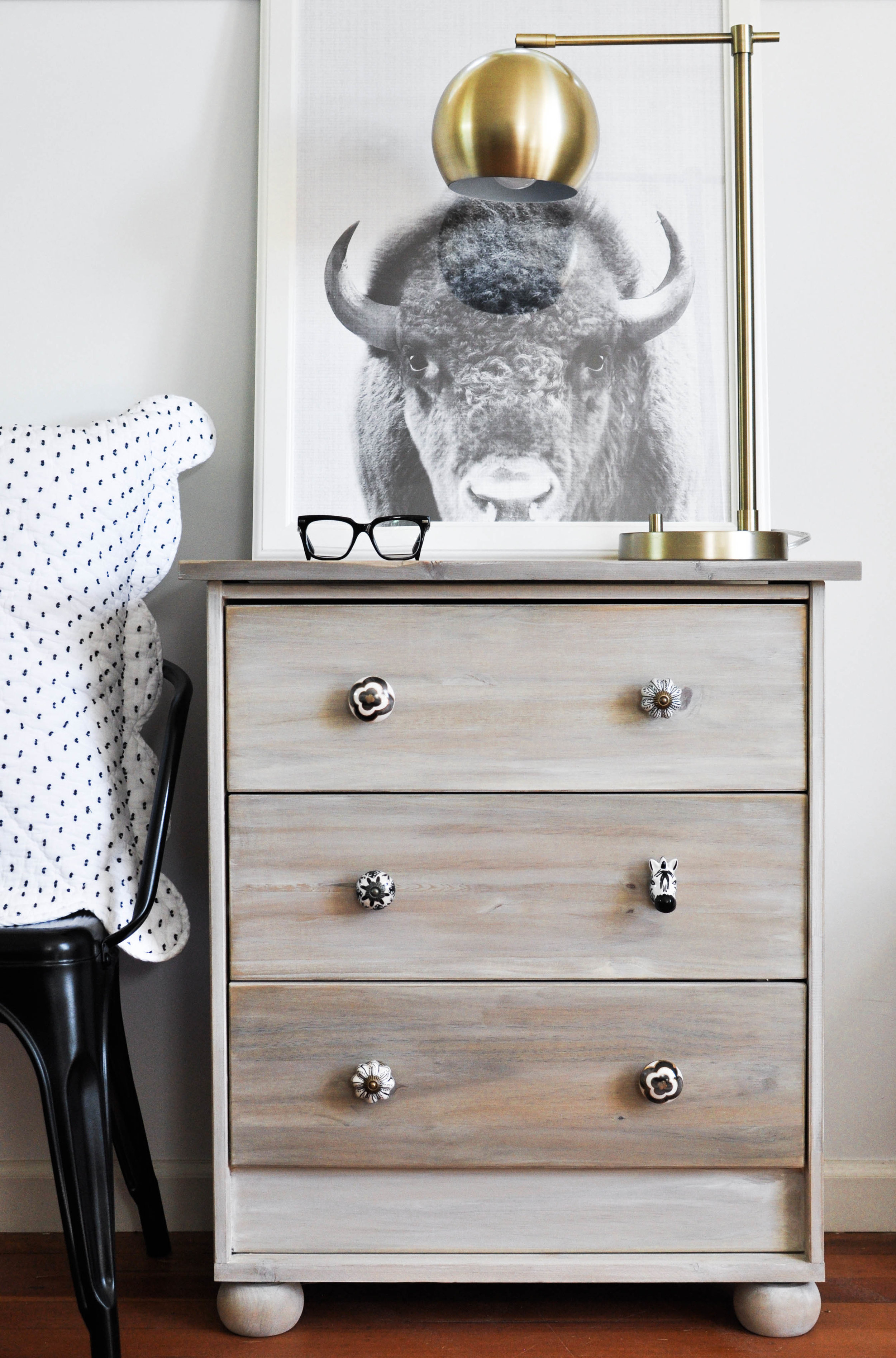 The Ultimate Ikea Rast Hack featured by top US home DIY blog, Love and Specs