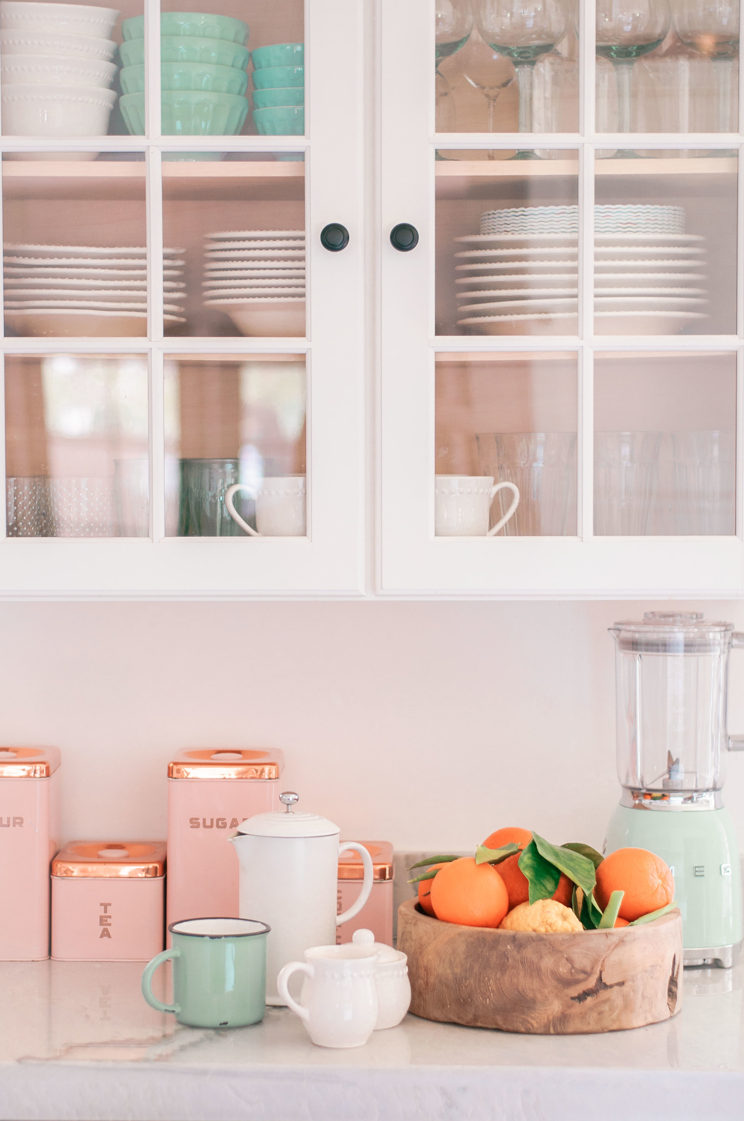 Farmhouse Kitchen Countertops  featured by top cottage lifestyle blog, Love and Specs.
