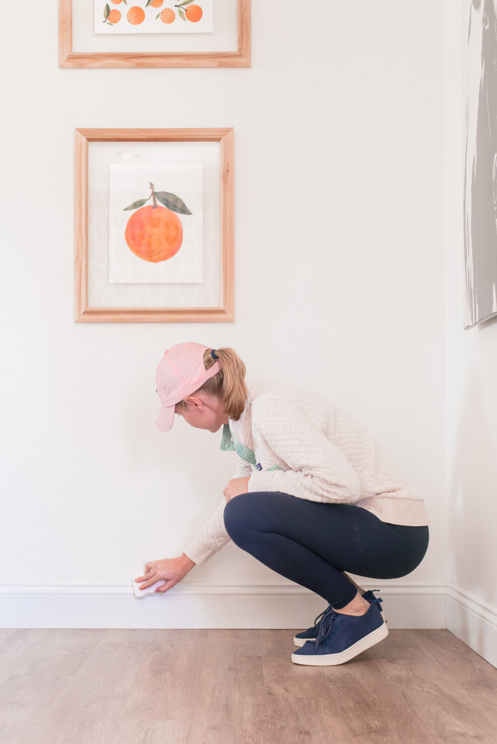 How to clean baseboards by top US lifestyle blog Love and Specs