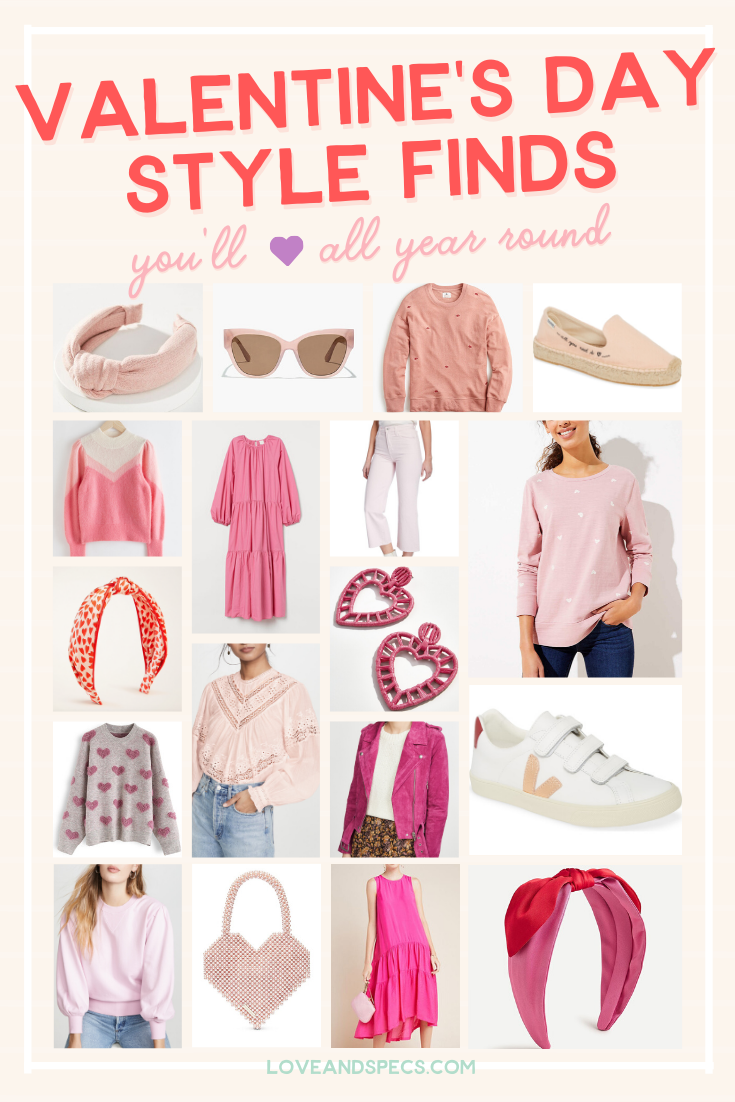 Lovely Valentine's Day Outfit Ideas featured by top Phoenix life and style blog, Love and Specs