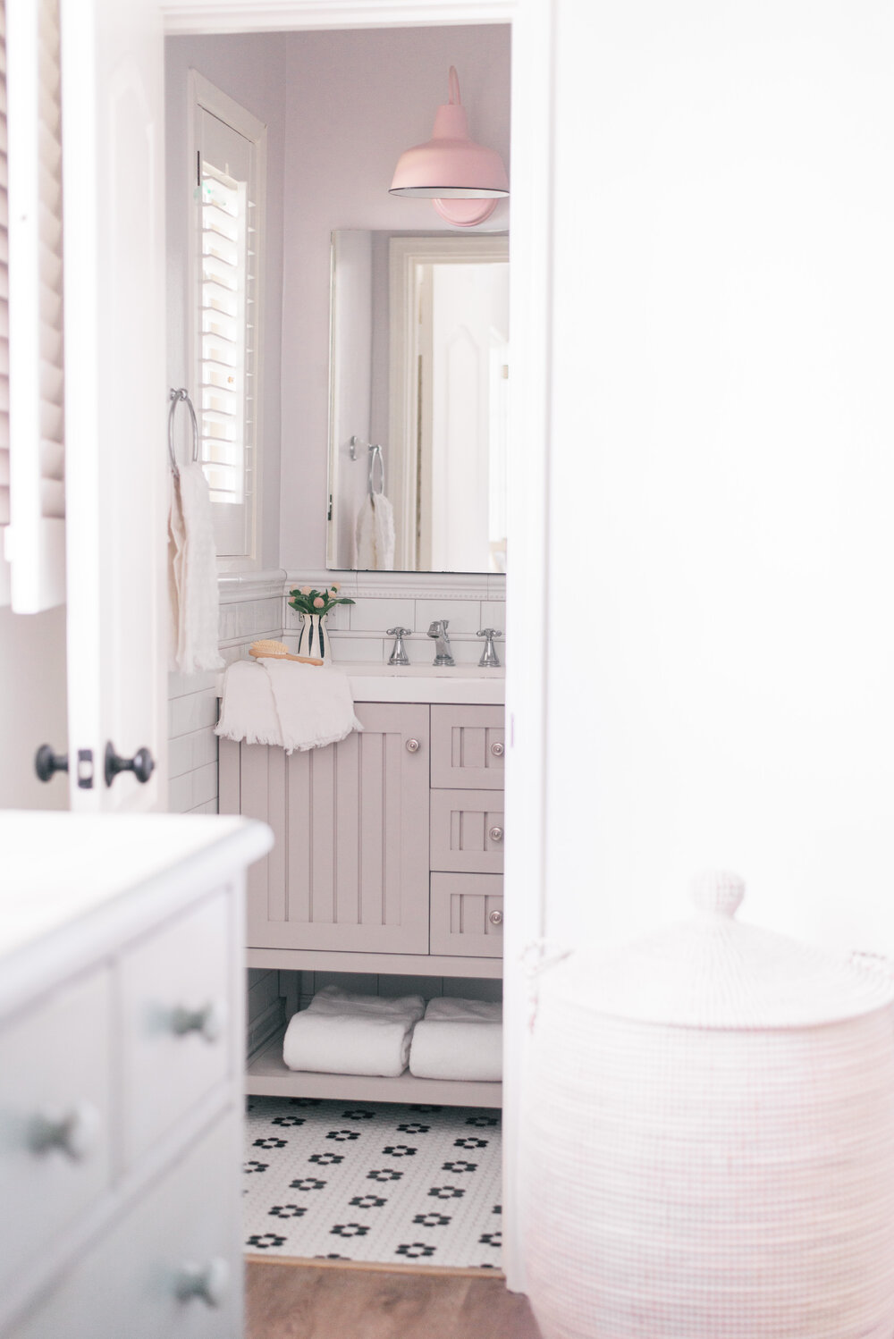 Small Master Bathroom Remodel 101 featured by top Phoenix life and style blog, Love and Specs