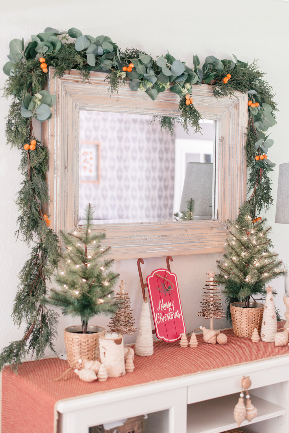 DIY Winter Citrus Garland: How To Make Faux Garland Look Real, tips featured by top US lifestyle blog, Love and Specs
