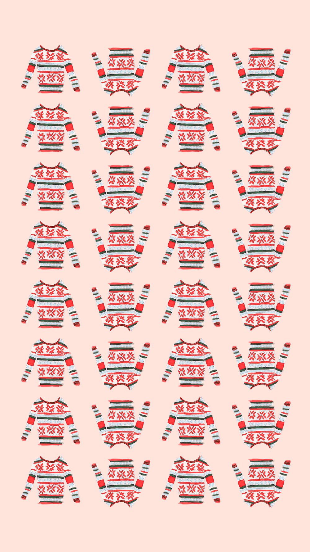 Free Holiday & Winter Phone Wallpapers featured by top US lifestyle blog, Love and Specs.