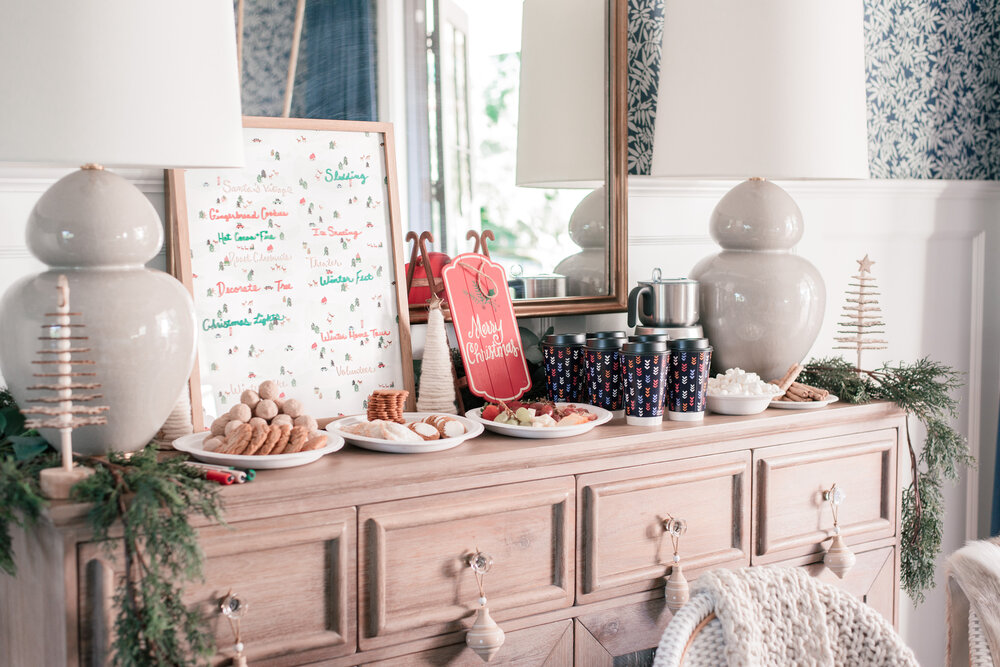 How to Host a Winter & Holiday Season Bucket List Party  featured by top US lifestyle blog, Love and Specs