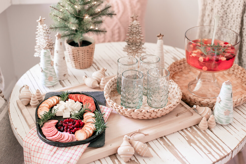 Easy Holiday Hosting Ideas with Hillshire Snacking featured by top US lifestyle blog, Love and Specs