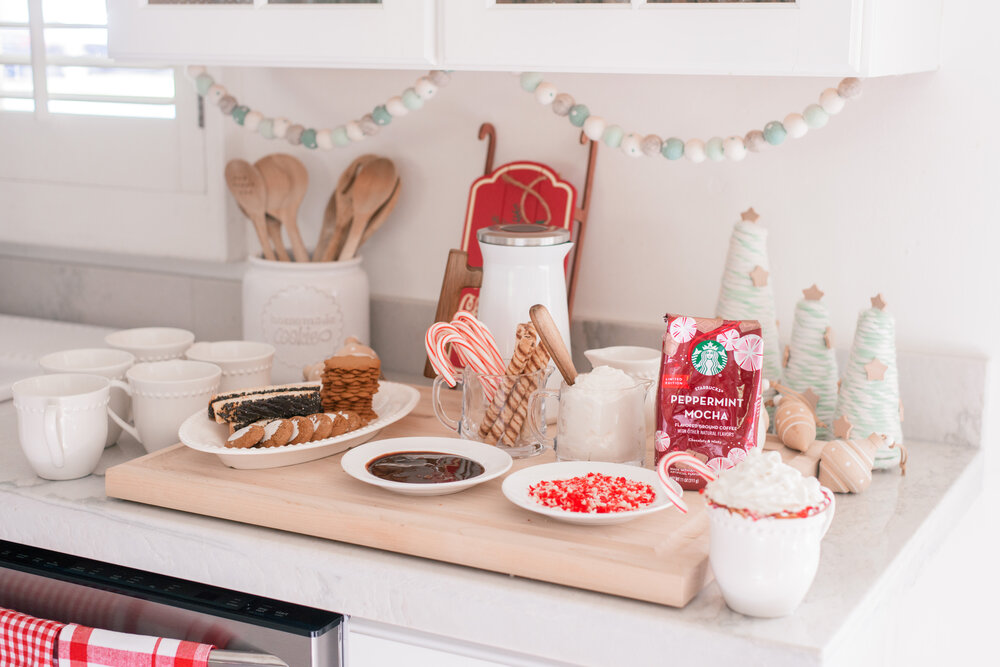 How to create your own Holiday Coffee Bar at Home, tips featured by top US lifestyle blog, Love and Specs.