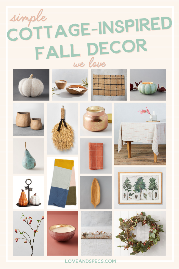 Fall Cottage Decor Top Picks featured by top US lifestyle blog, Love + Specs