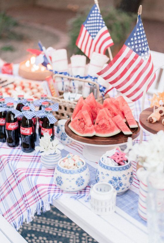 Fun 4th of July Inspired Red White and Blue Decorations to Love This Year!