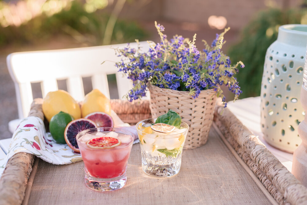 The Best Easy Summer Cocktail Recipes by Top Phoenix life and style blog Love and Specs