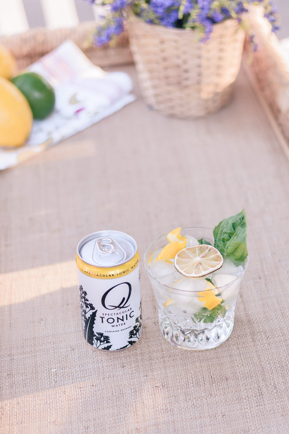 The Best Gin & Tonic Recipe by Top Phoenix life and style blog Love and Specs