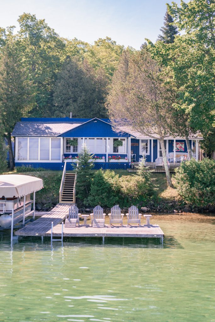 Northern Michigan Cottage Tour: Michigan Cottages featured by top US travel and cottage lifestyle blogger, Love and Specs