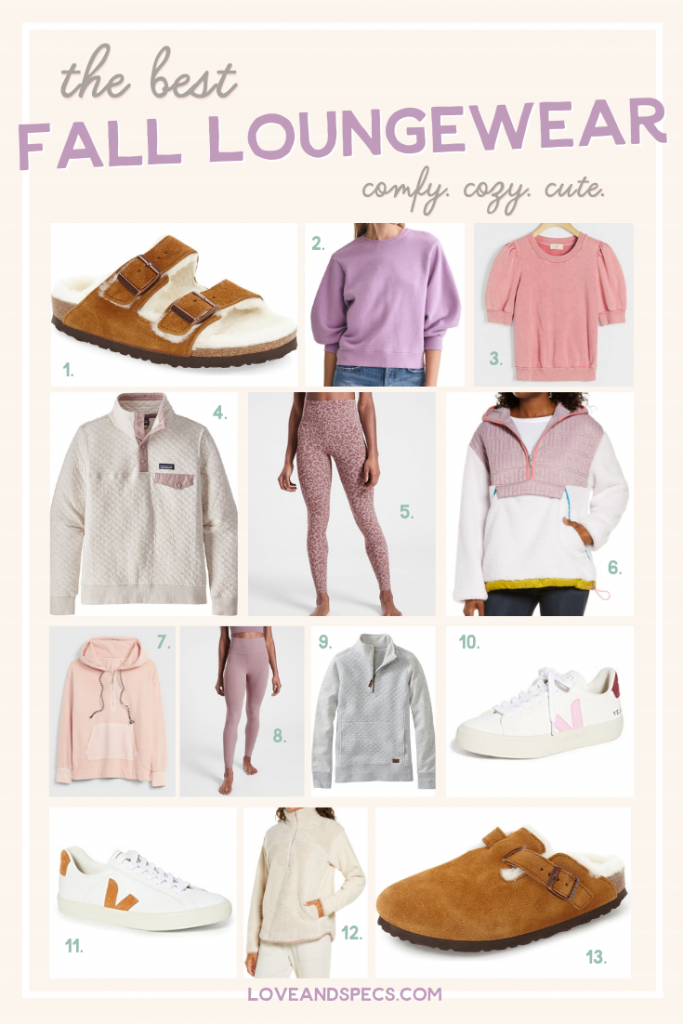 Fall Loungewear & Casual Outfit Favorites featured by top Phoenix fashion lifestyle blogger, Love and Specs.